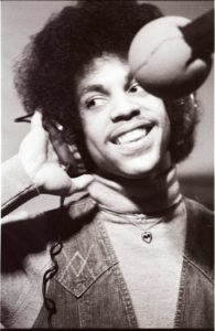 Prince at Moon Sound / Photo by Larry Falk